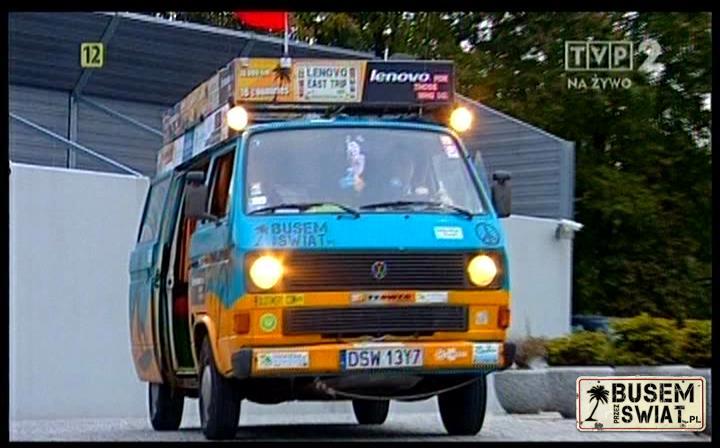Busem Przez Świat w TVP2