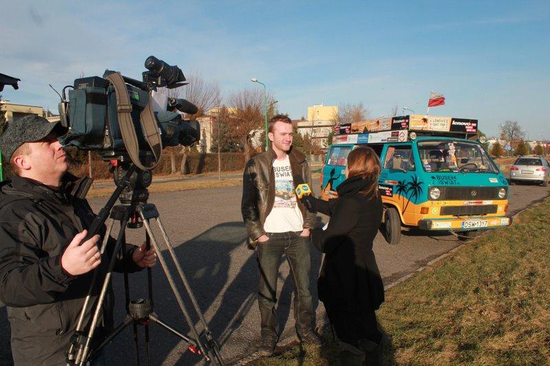 Wywiad dla TVN