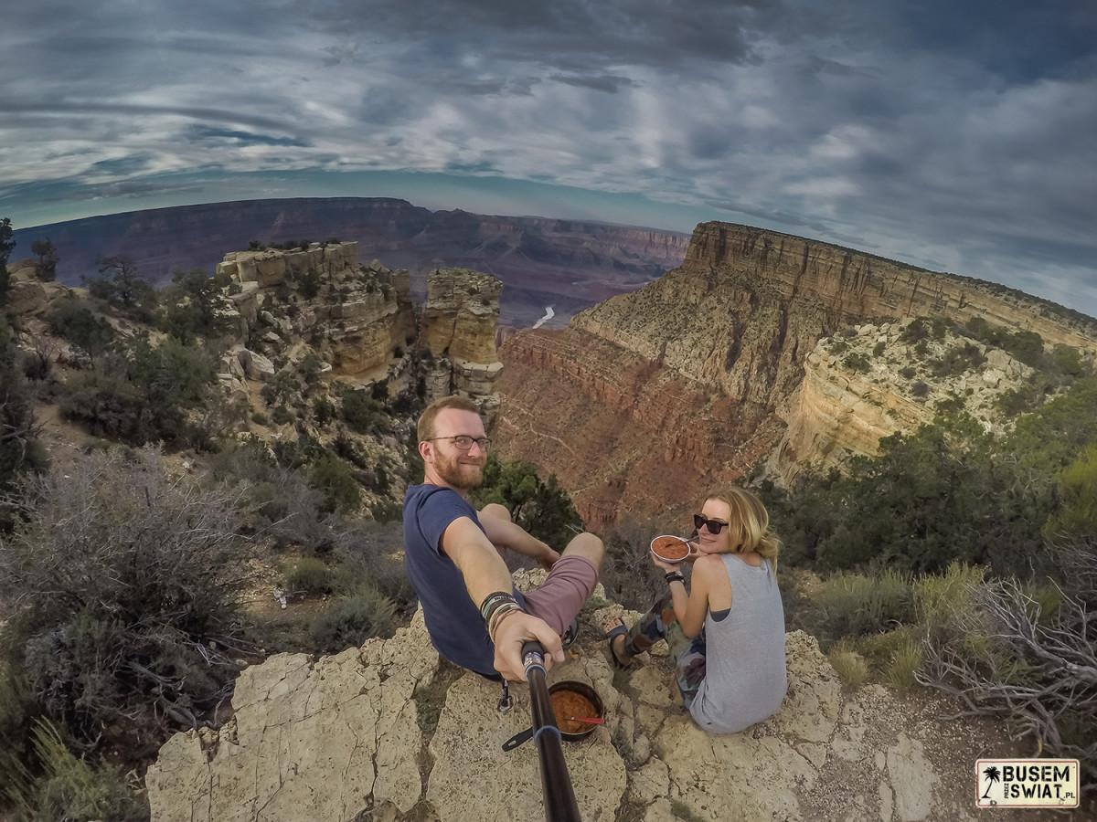 Kolacja z widokiem na Wielki Kanion