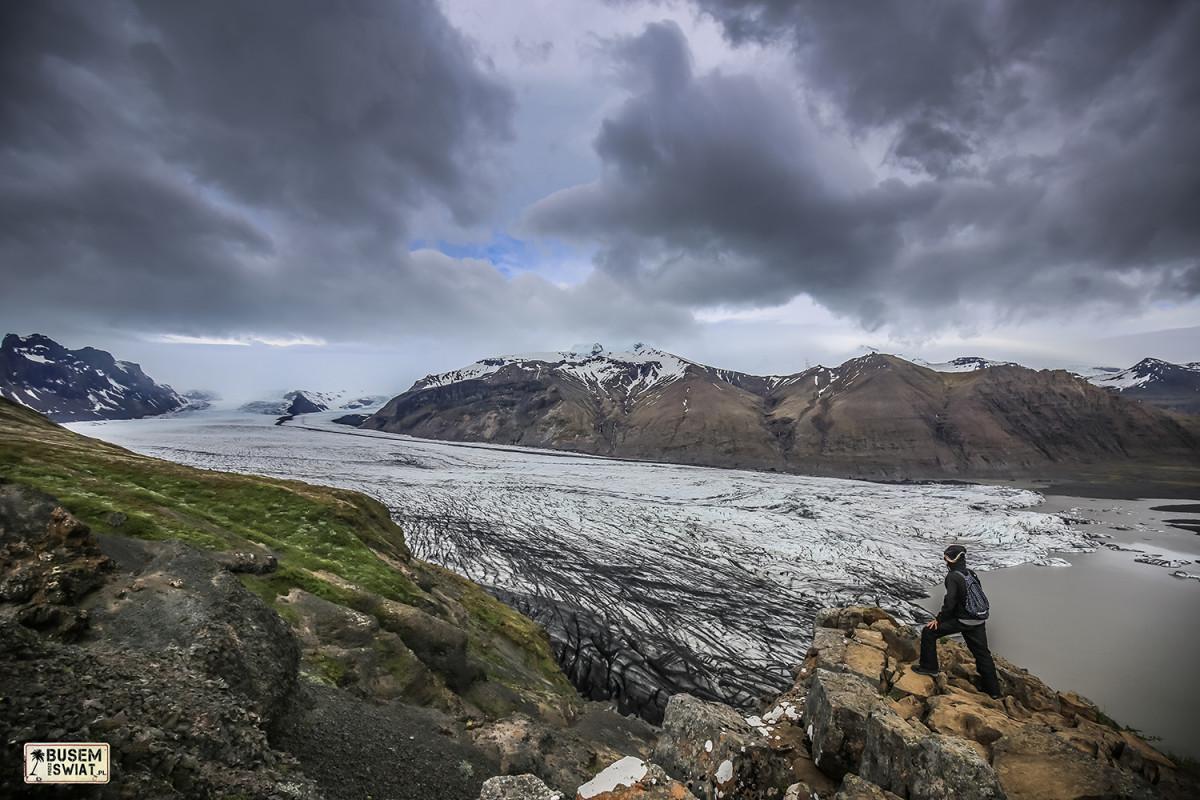 Lodowiec Vatnajokull, Islandia