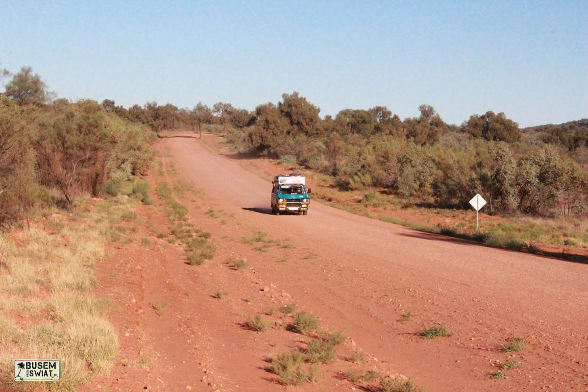 W australijskim outbacku
