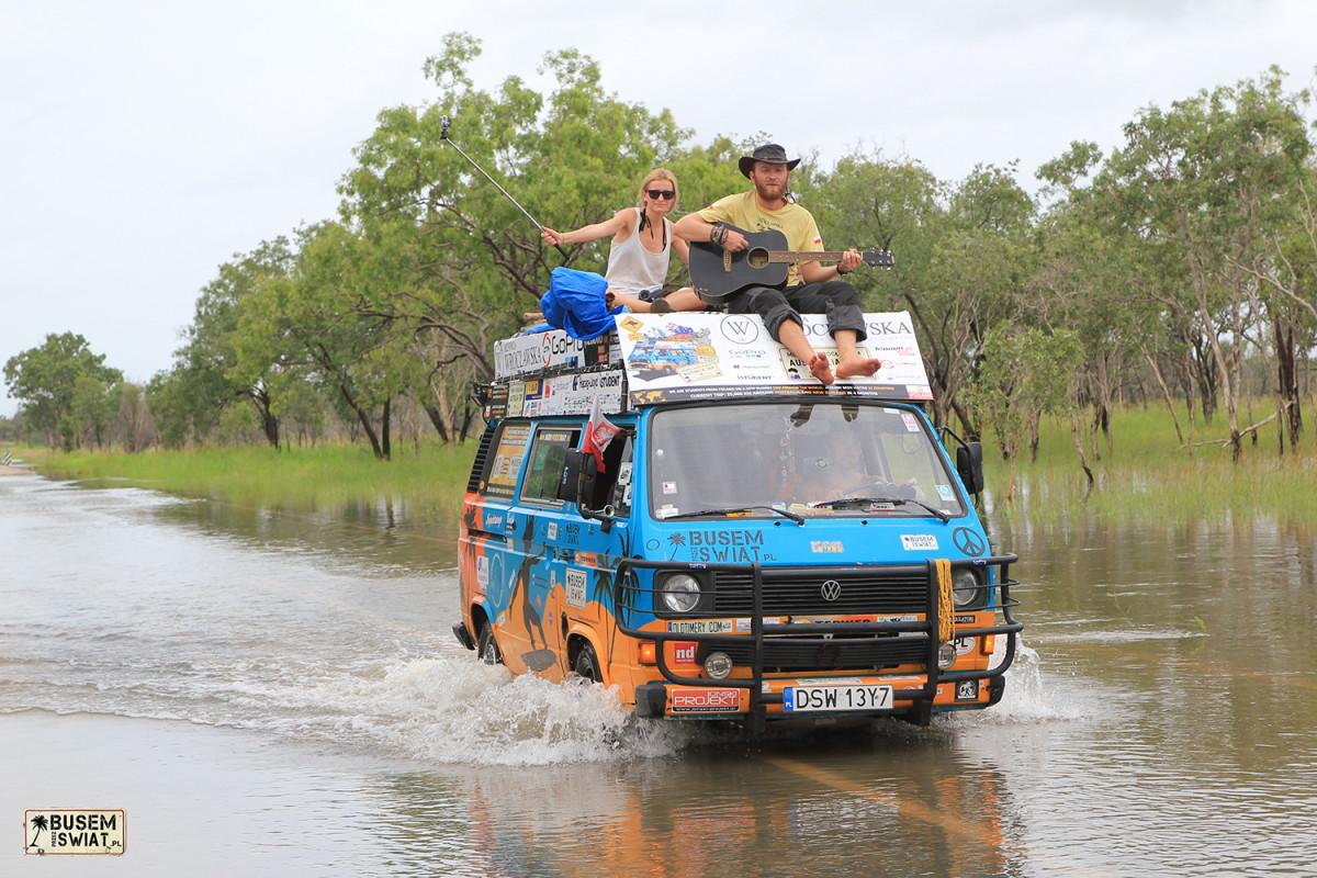 Pora deszczowa w północnej Australii