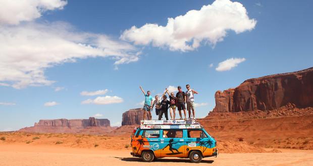 Busem Przez Swiat Dziki Zachod USA