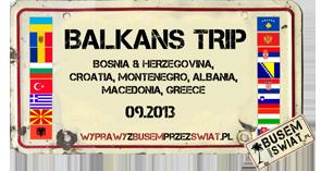 logo wyprawy balkans trip 2013