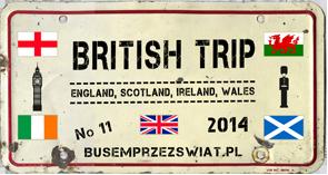 logo wyprawy british trip