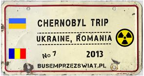 logo wyprawy chernobyl logo trip
