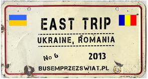 logo wyprawy east trip  072013