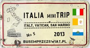 logo wyprawy italia mini trip