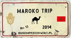 logo wyprawy maroko trip