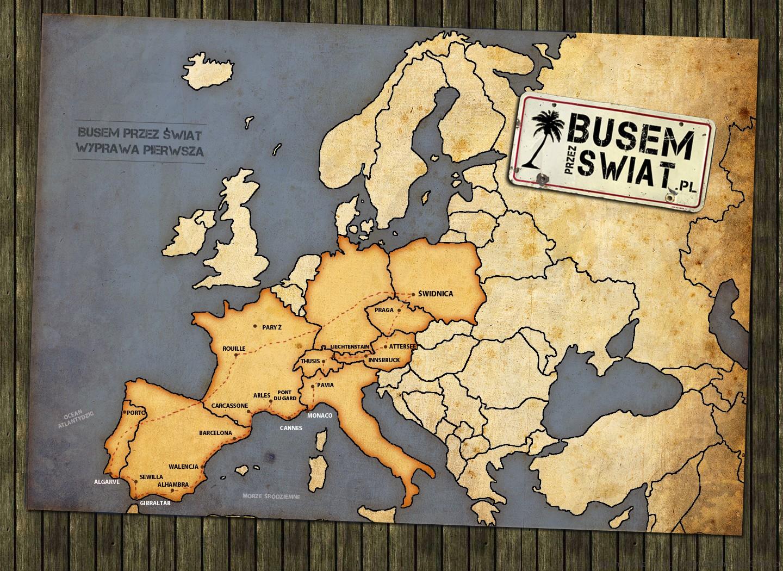 mapa do ksiazki wyprawa pierwsza