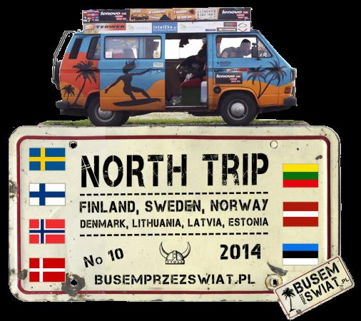wzor na koszulke NORTH TRIP 2014 wzor1