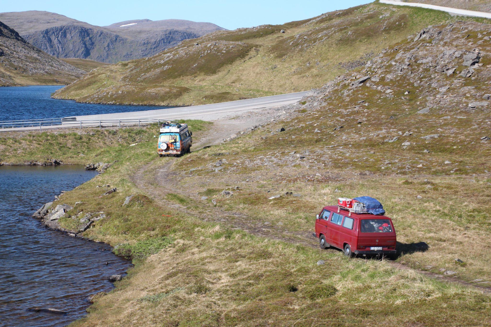 norwegia north trip nordkapp busem przez swiat
