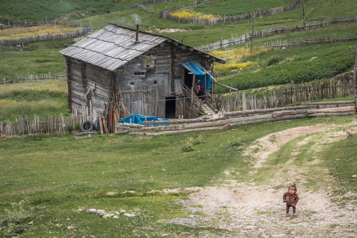 Gruzja Goderdzi Wioska Pasterzy Gory trasa podroz mapa