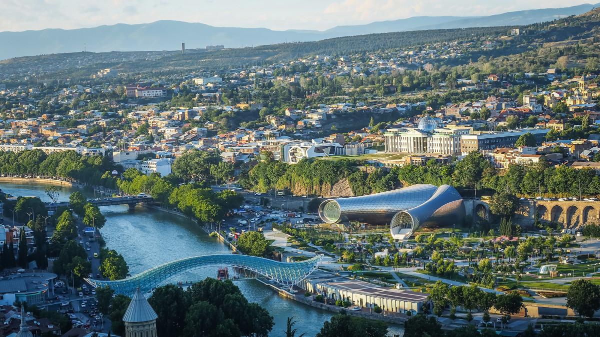Tbilisi stolica gruzji