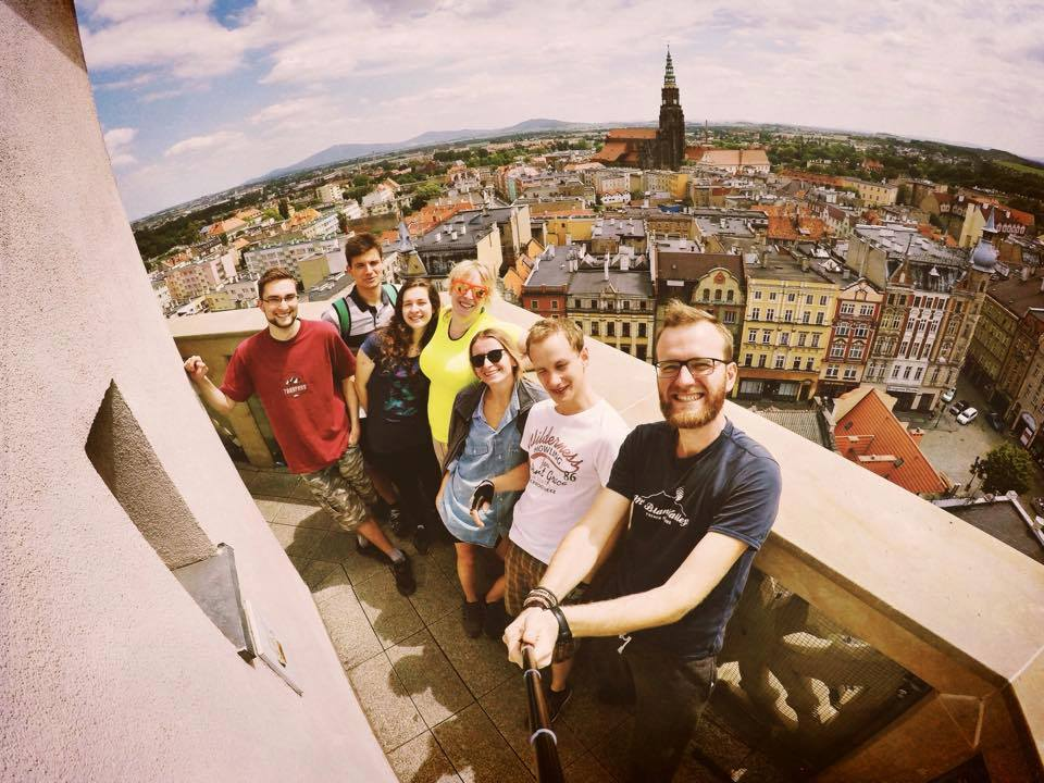 Świdnica miasto atrakcje panorama wieża