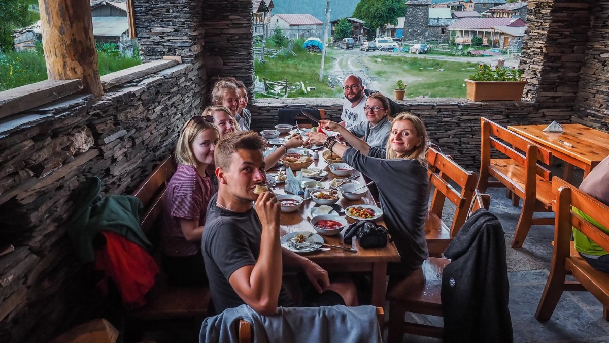 Gruzja restauracje