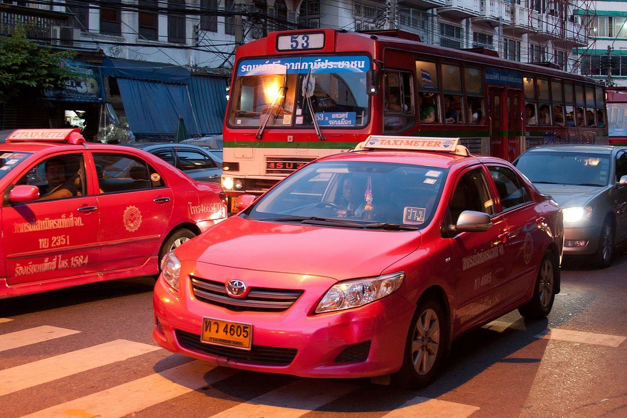 tajlandia taxi