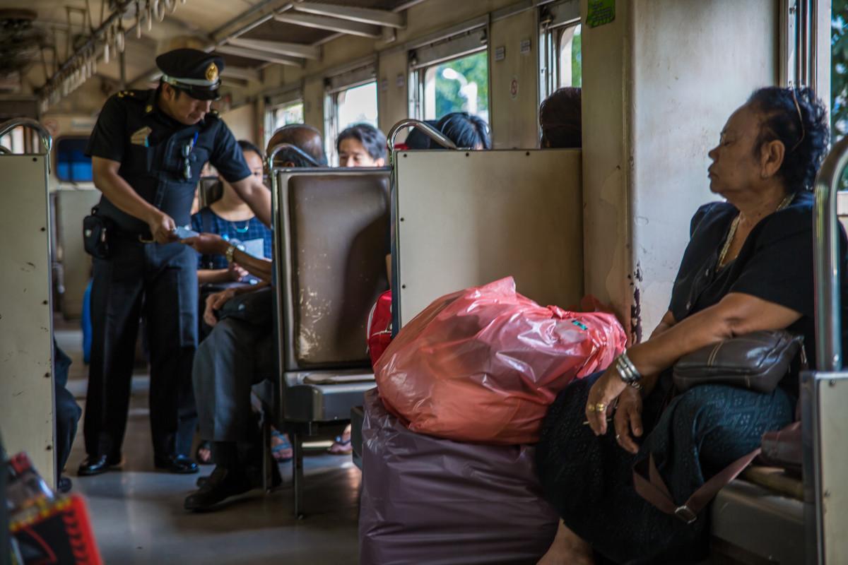Tajlandia pociąg