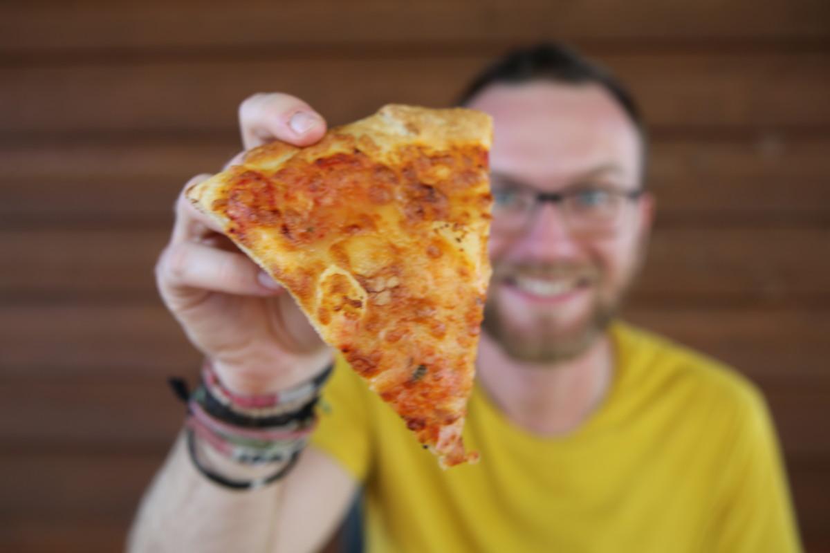 USA pizza slice