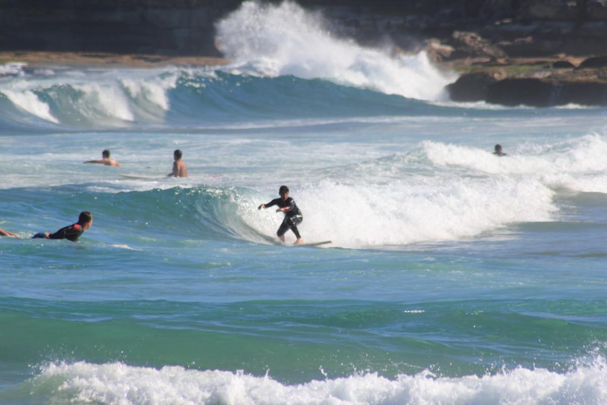 Usa Kalifornia surfing