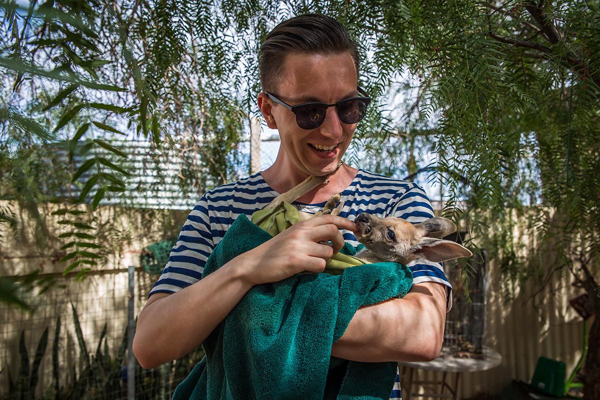 sierociniec dla kangurów coober pedy australia
