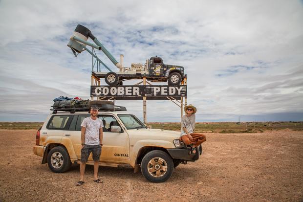 Coober Pedy Australia Busem Przez Świat