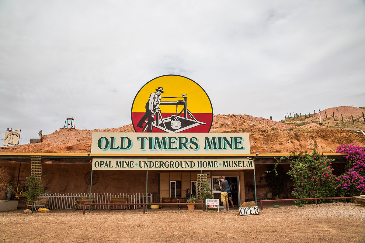 old timers mine coober pedy