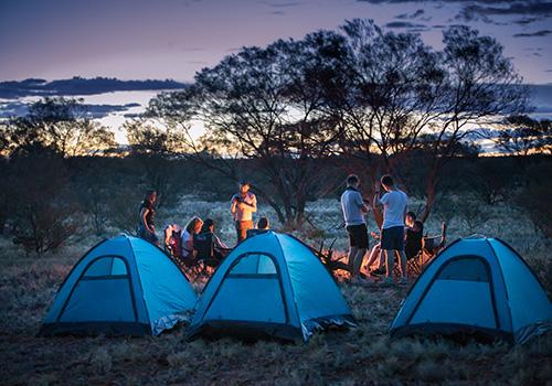 Darmowe kempingi w Australii