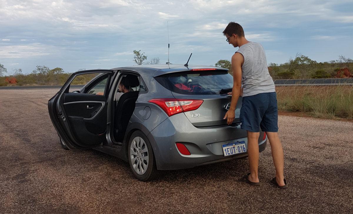Takie auto wynajęliśmy w Australii za 5$ na dzień
