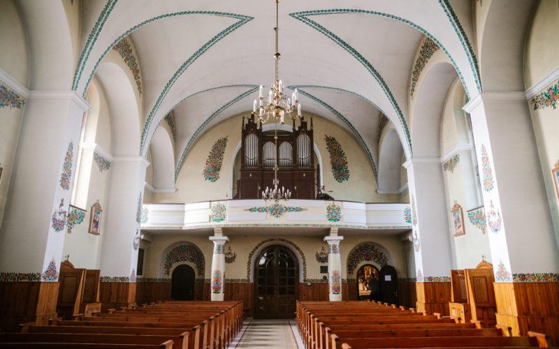 Kościół praktycznie zawsze jest otwarty dla turystów