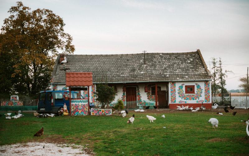 zalipie malowane chaty