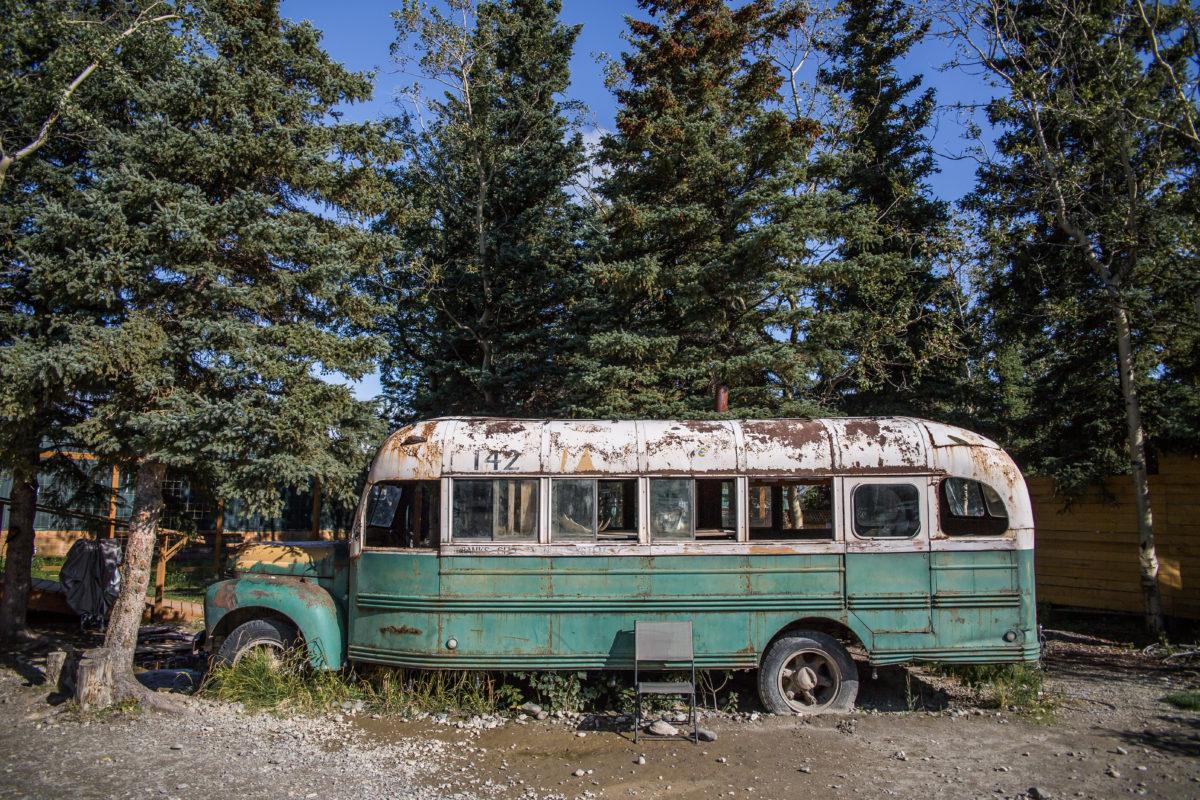 """Autobus """"Pocieszenia"""", czyli ten który zagrał w filmie Into The Wild"""