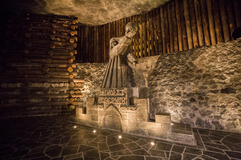 Jednym z pierwszych turystów w Wieliczce był Mikołaj Kopernik.
