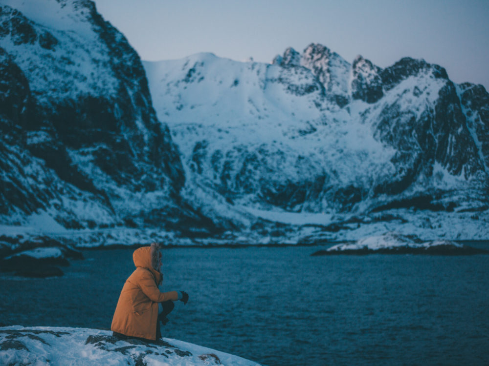 Lofoty zimą