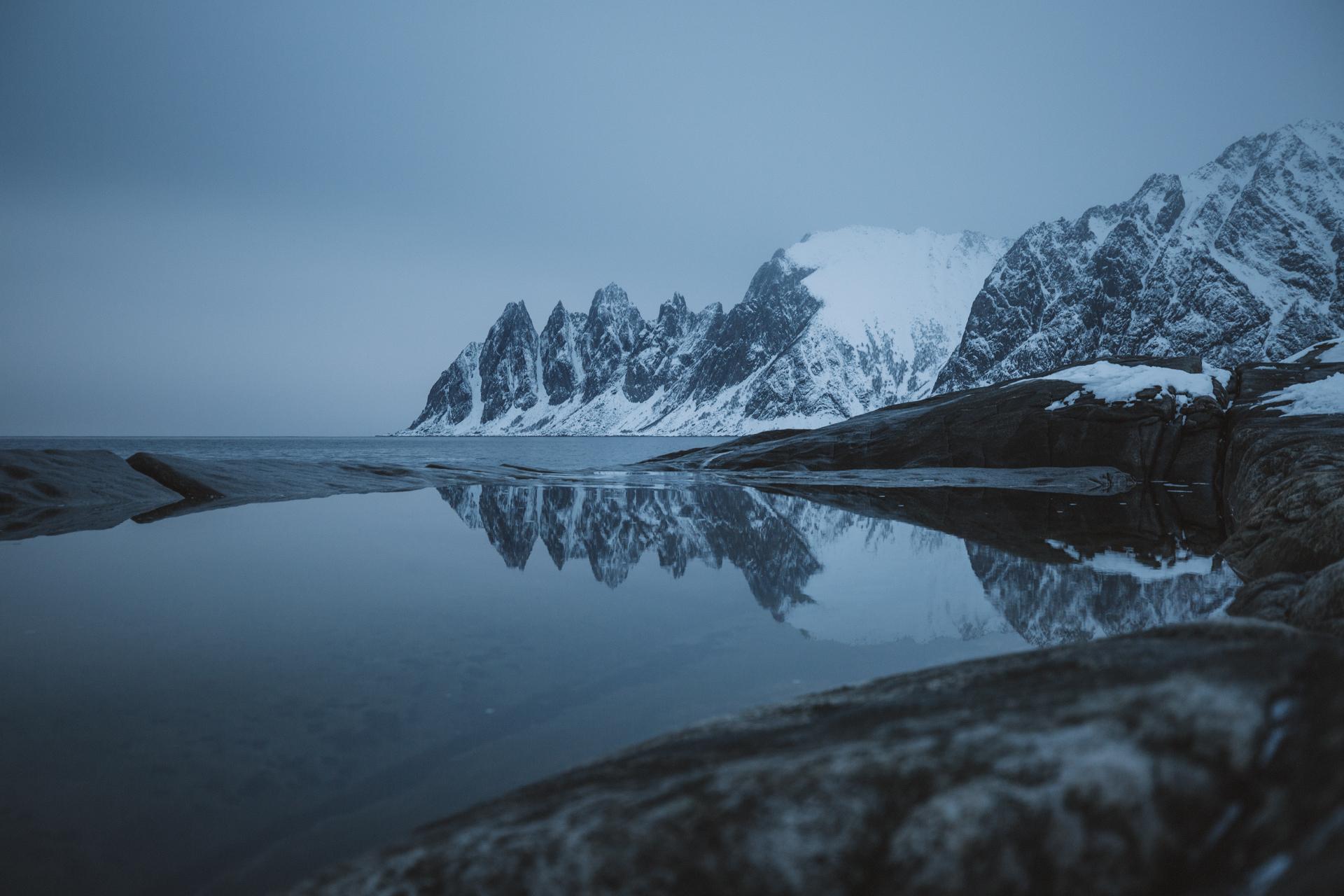 wyspa senja norwegia