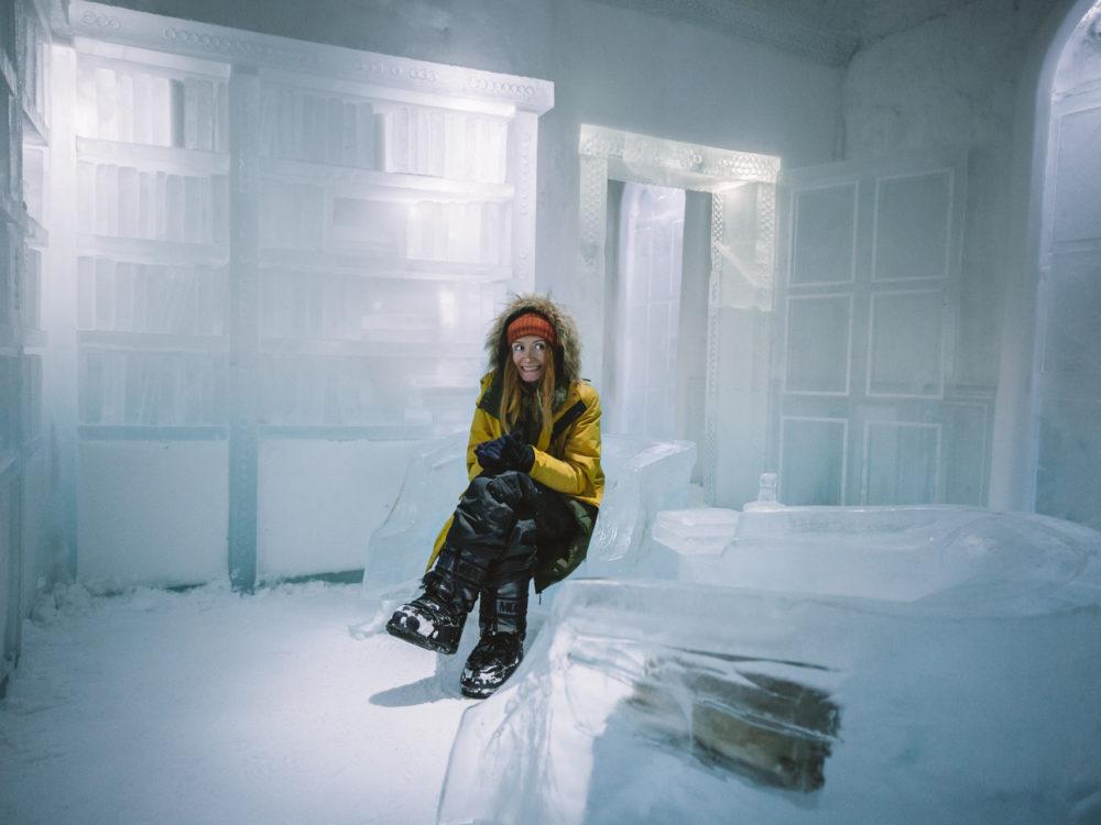 ice hotel lodowy hotel