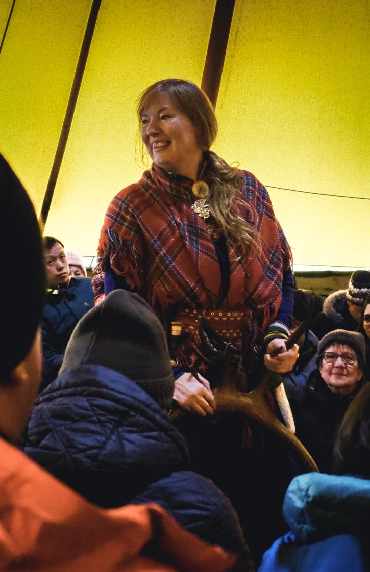 saamowie tromso arctic reindeer
