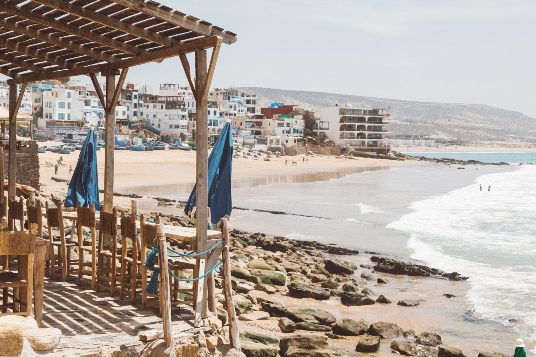 Taghazout Maroko Marocco
