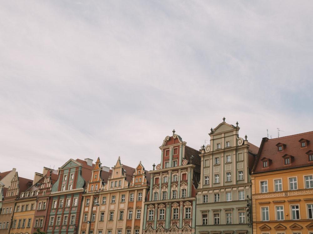 Wrocław rynek kamienice