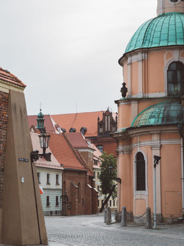 Ostrów Tumski Wrocław Atrakcje Spacery