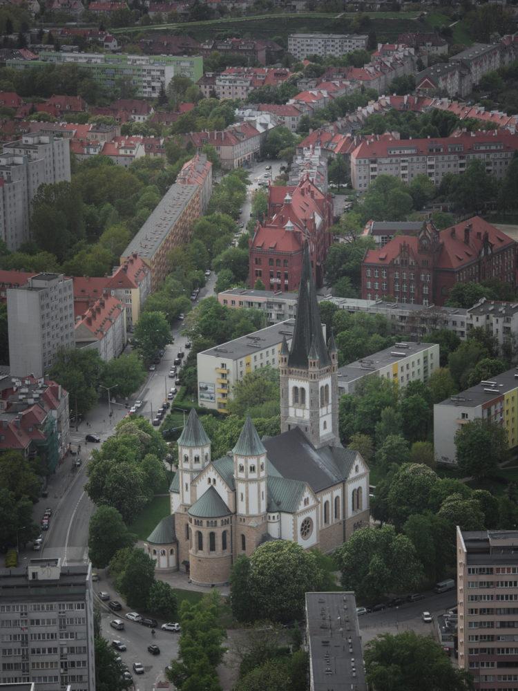 Sky Tower wrocław panorama