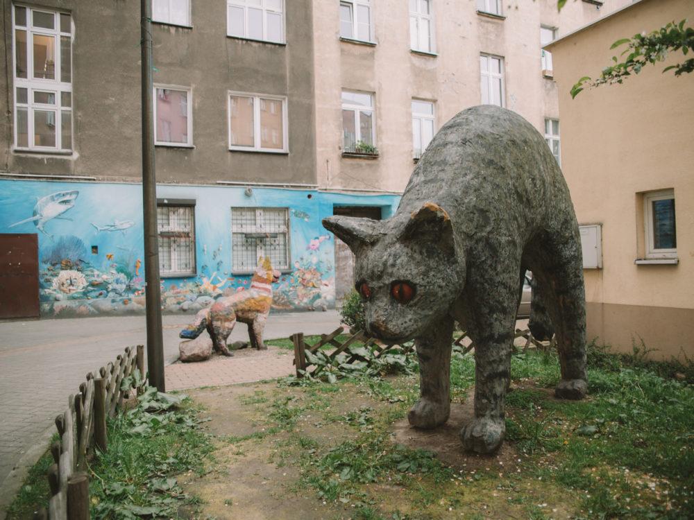 Wrocław Kolorowe Podwórka na Nadodrzu