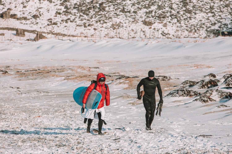 Unstad surfing