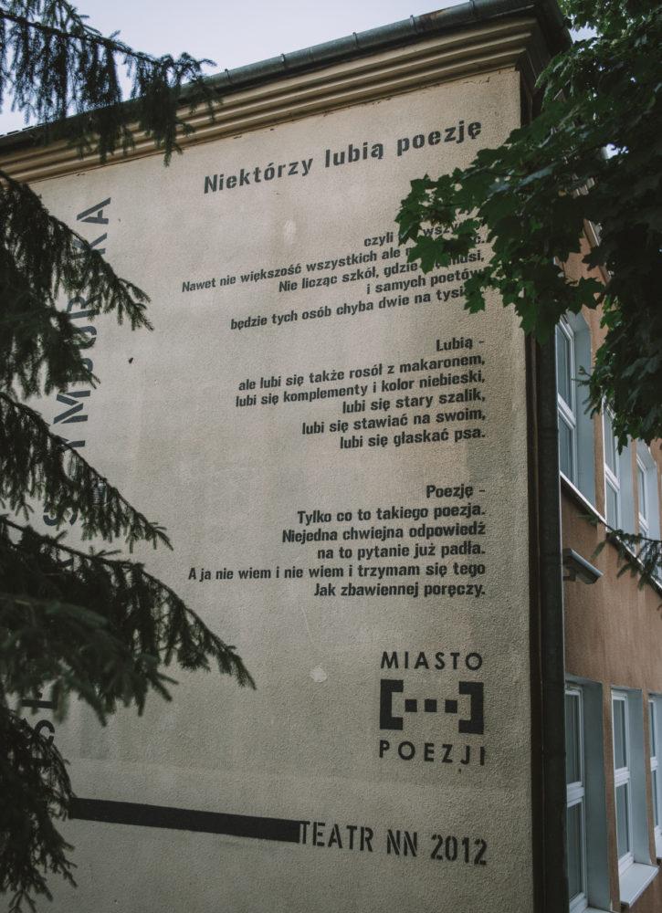 Lublin wiersze Miasto Poezji
