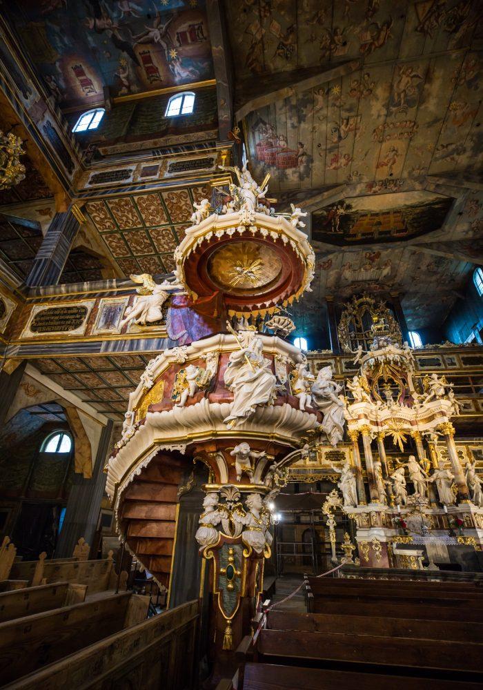 Kościół Pokoju. Zdjęcia za pozwoleniem Pani Przewodnik.