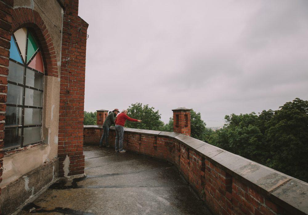 Wieża widokowa na Wieżycy Dobromierz